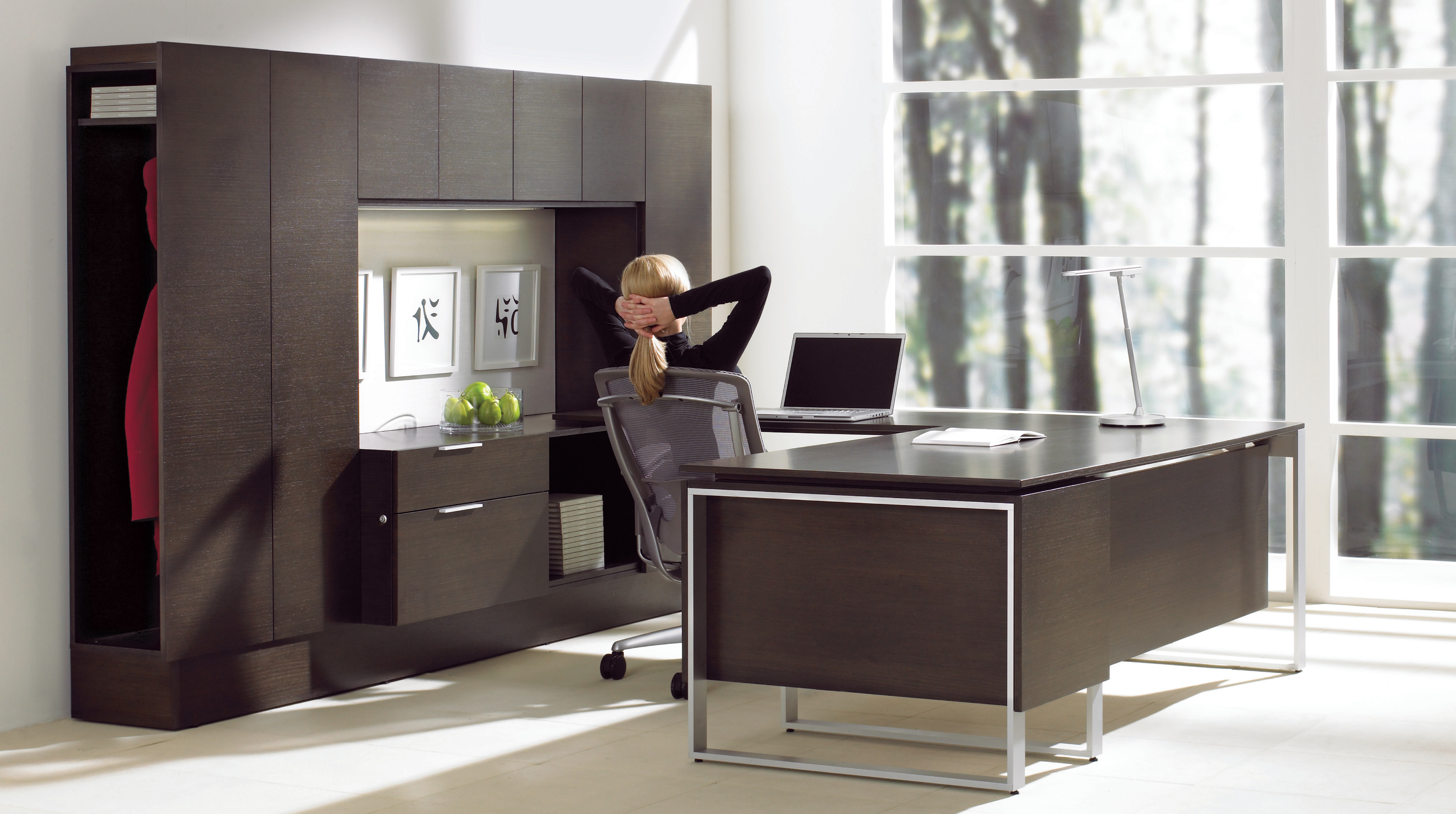 Foundations U Shaped Modern Executive Desk