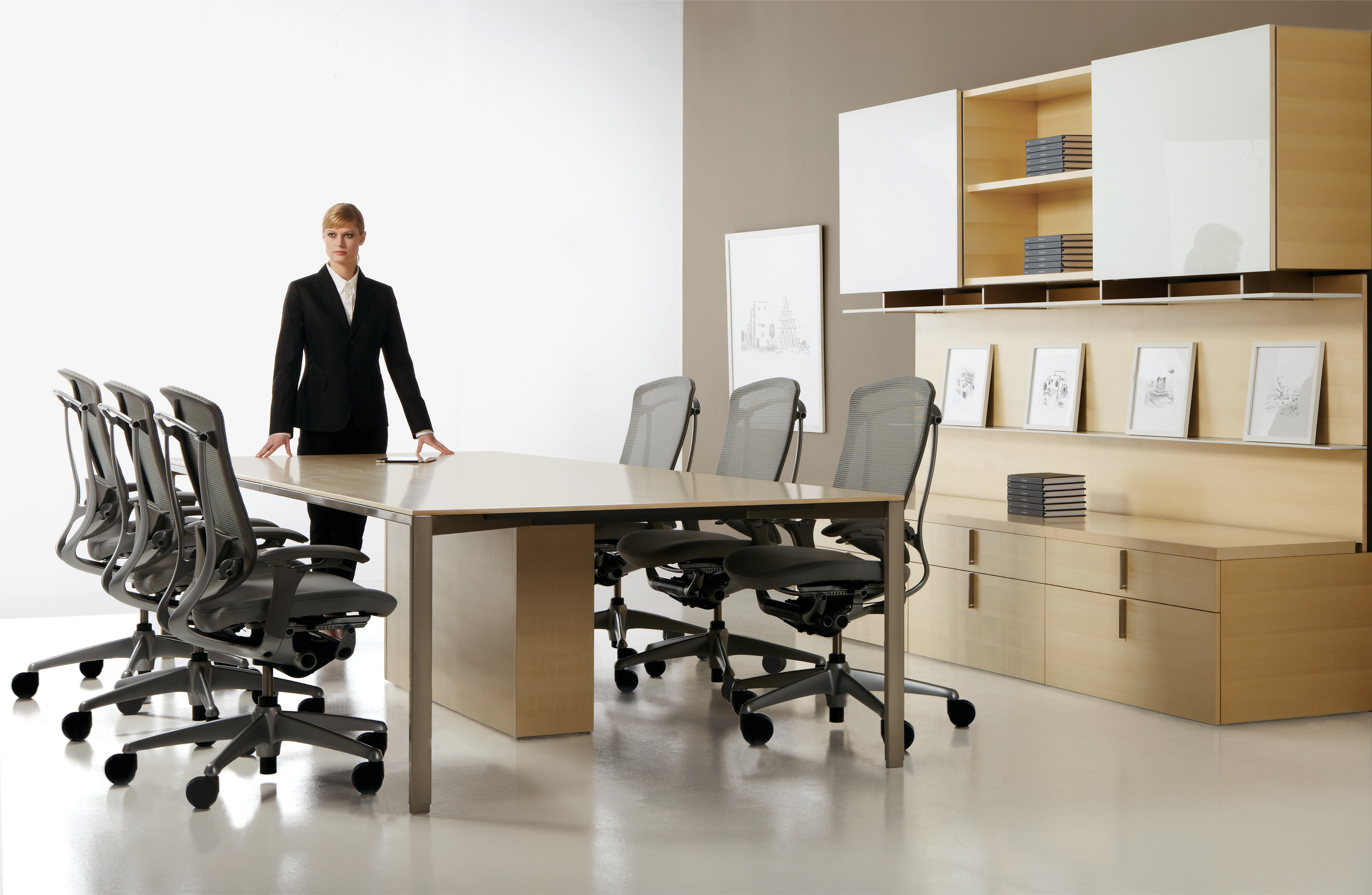 Contemporary Conference Room Furniture by Teknion