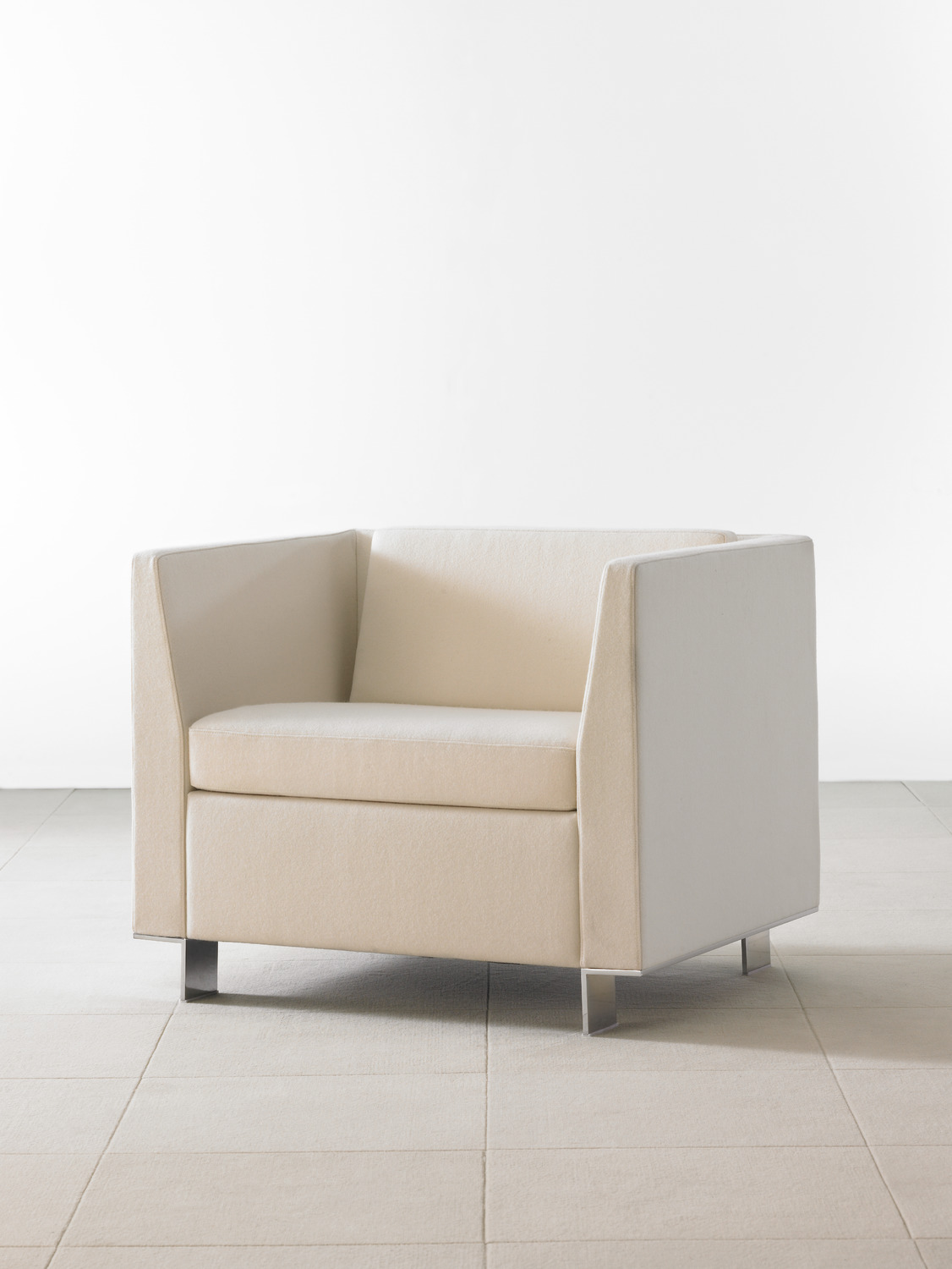 Vignette Lounge Seating - 3/4 View - Cube Lounge Chair
