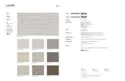 Strio - 7007 Sample Card