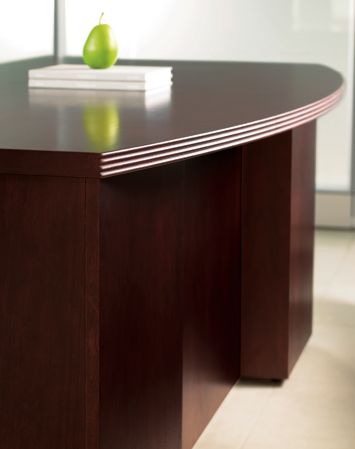 Expansion Reed Edge Executive Desk