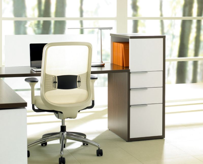 Office Storage Cabinet with Expansion Desks