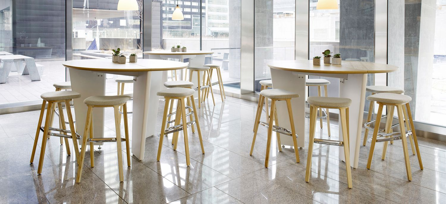 Designed By Mario Ruiz, The Juntura™ Collection, Comprising A Wooden  Armchair And Stool With Or Without Back Support, Is Defined By Classic  Forms With A ...