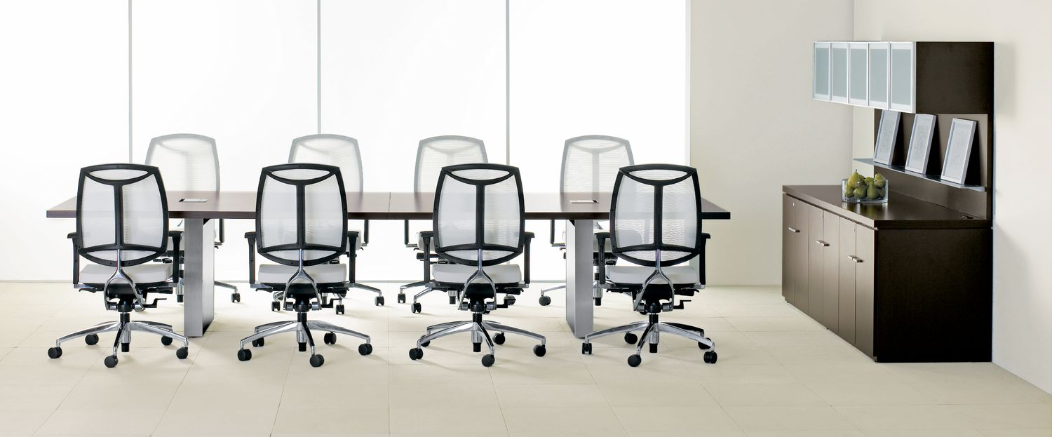 Expansion Conference Table with Chairs