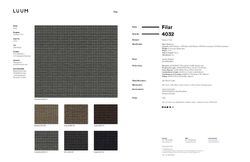 Filar - Rivet - 4032 - 05 Sample Card