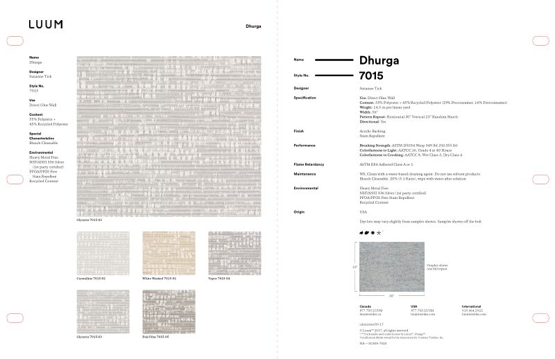 Dhurga - Vapor - 7015 - 04 - Half Yard Sample Card