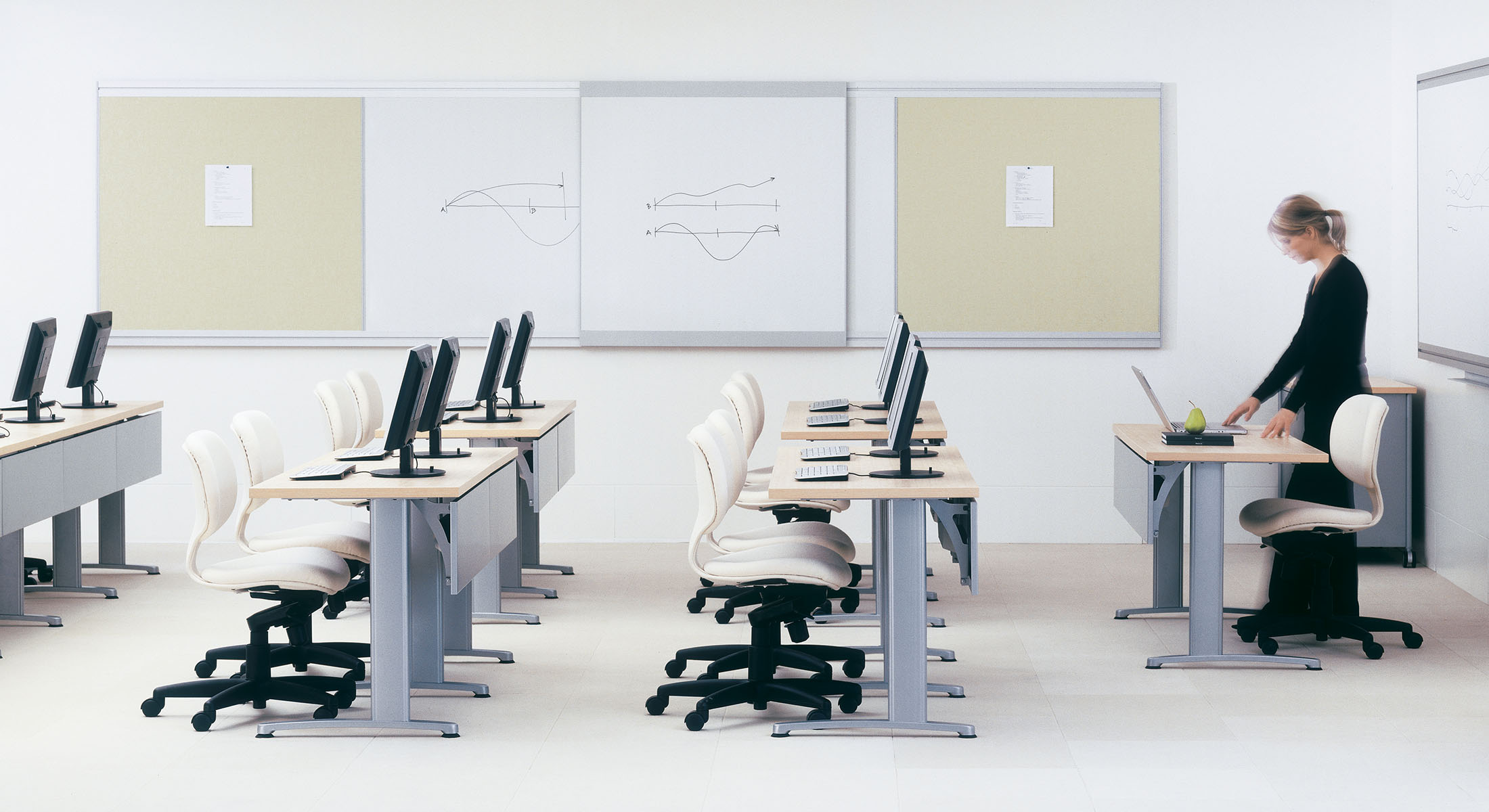Classroom Furniture Cad ~ Classroom training tables