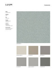Fundamentals - Light Grey - 4001 - 06 Sample Card