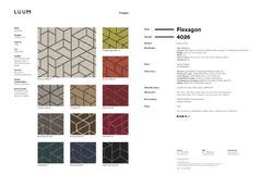 Flexagon - 4026 Sample Card