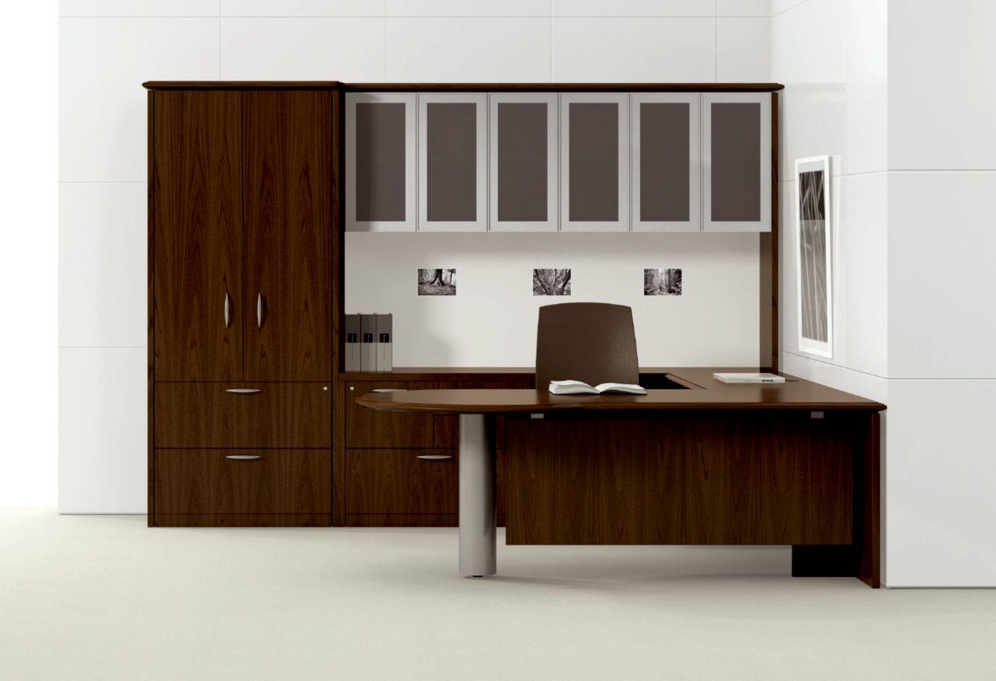 Korato P Shaped Executive Desk