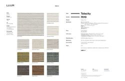 Telecity - 7010 Sample Card