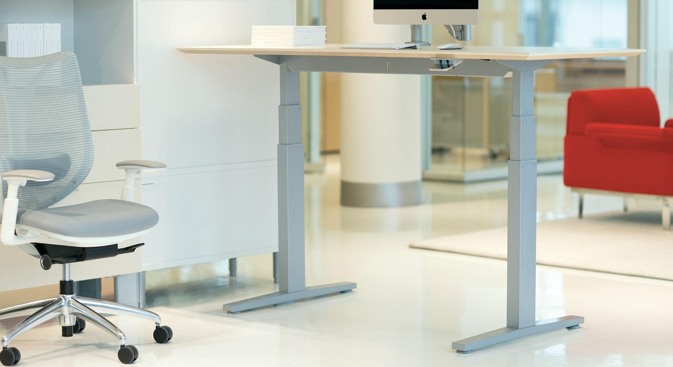 Livello Height Adjustable Tables Teknion Office Furniture - Height adjustable meeting table