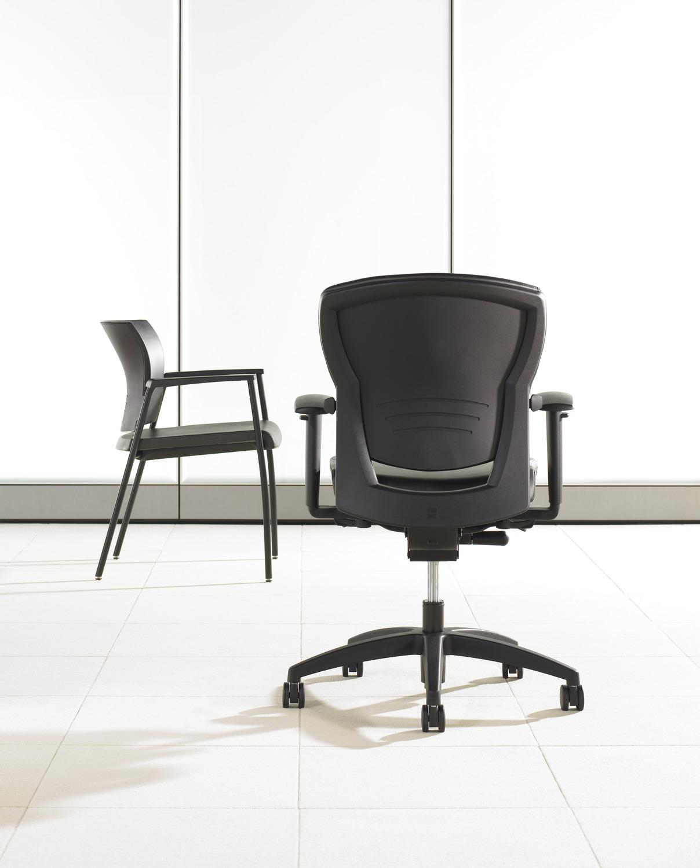 Savera Task Chair - Back View - Mid Back.tif