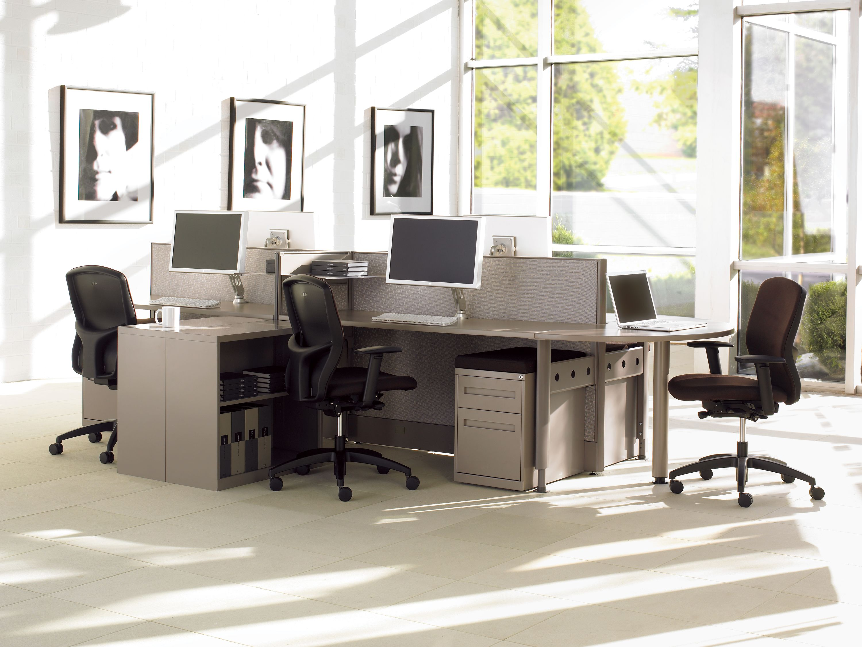 Boulevard Office Furniture Cluster