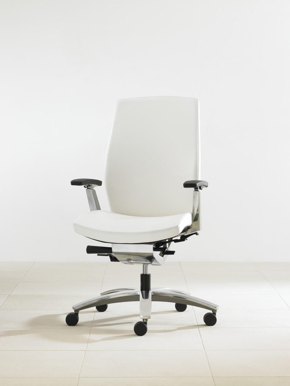 Marini Task Chair - 3/4 View - White.tif