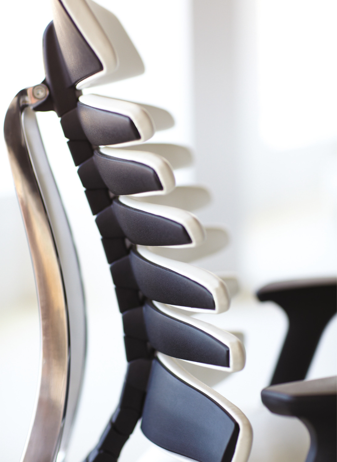 RBT Task Chair - Side View Detail - White.psd