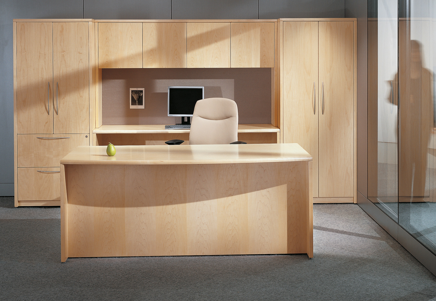 Cana Executive Office Furniture in Light Wood