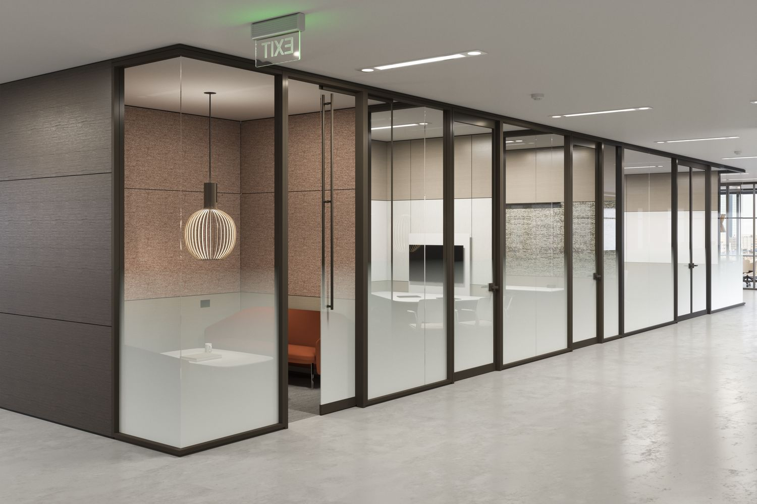 Optos Wall Partitions - Teknion Office Furniture