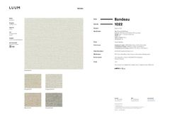 Bandeau - Hemp - 1022 - 02 - Half Yard Sample Card
