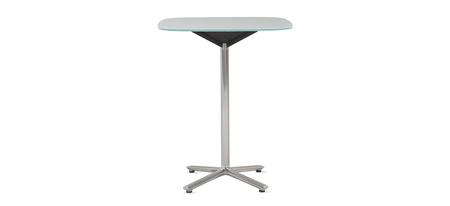 Bevy Pedestal - Cafe table and stools