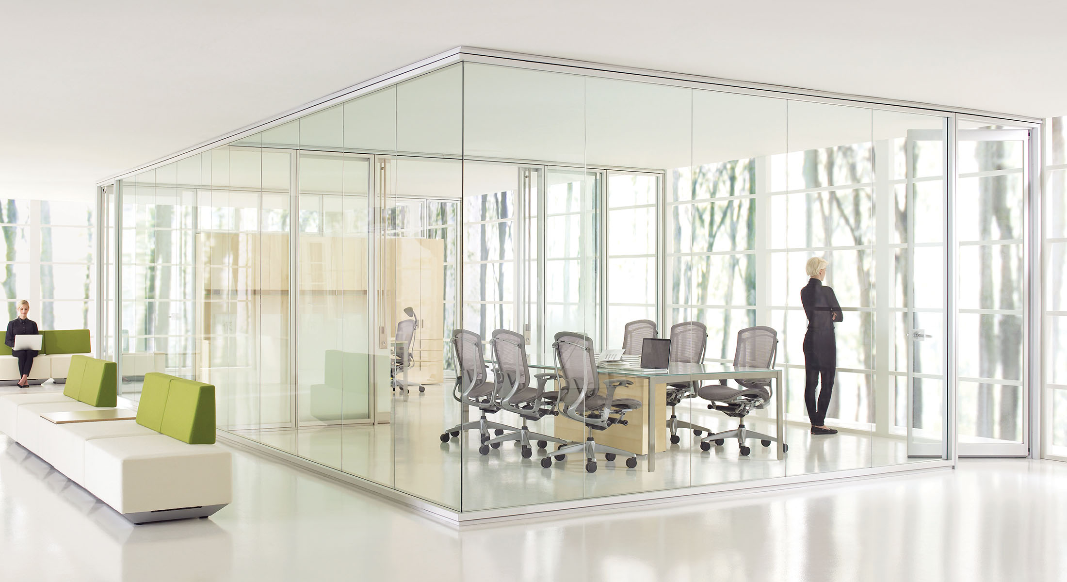 Optos Wall Partitions Teknion Office Furniture
